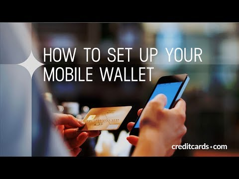 How to set up mobile wallet