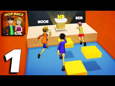 Hop Race 3D - Gameplay Part 1 (Android,iOS)