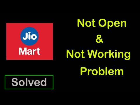 How to Fix JioMart not Open and Not working Problem in Android & Ios Mobile, Tablet