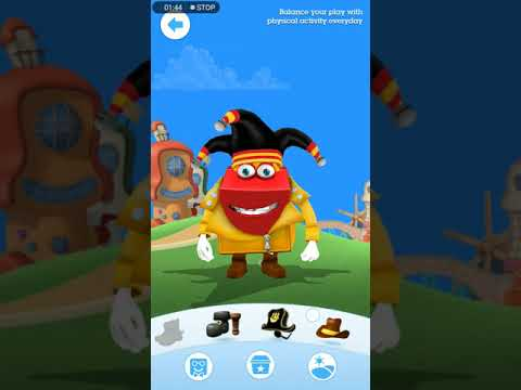 How to play with the Happy meal box in happy studio app