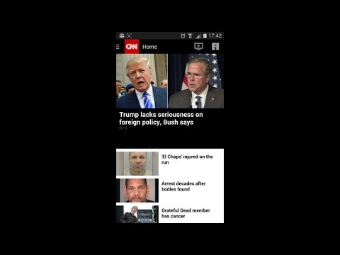 CNN Breaking US & World News (by CNN) - news magazine for Android and iOS.