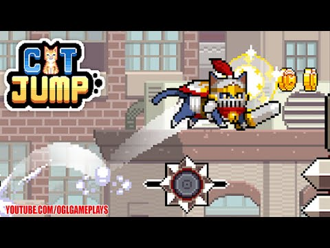 Cat Jump Gameplay Android iOS (By Seeplay Inc.)