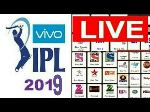 ipl 2019 Live Streaming & indian & Pakistani All Tv Channel