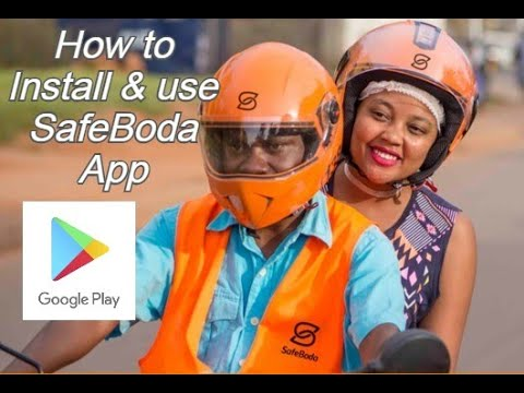 How to Install and use SafeBoda App