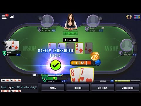 WSOP Poker - Texas Holdem 🃏 Gameplay Android, iOS #2