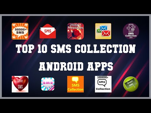 Top 10 SMS Collection Android App | Review