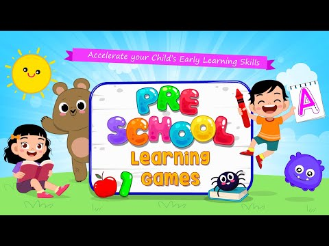 Kids Preschool Learning Games - 80 Toddler games - all in one Android App - Promotional Video
