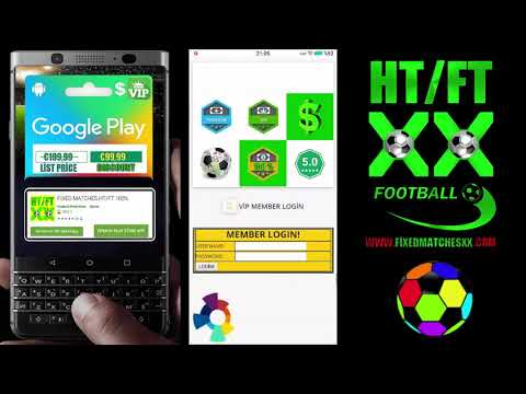 Fixed Matches HT FT - Android Apps, Football Betting Tips
