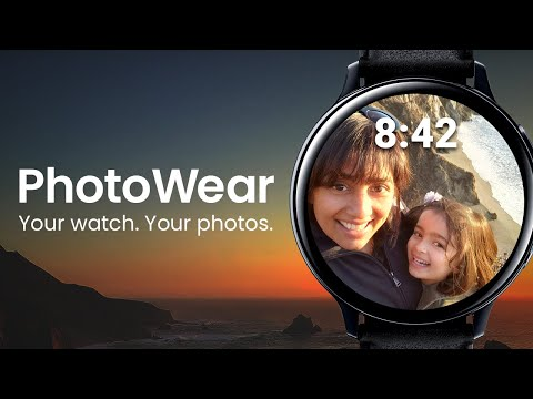 video review of PhotoWear Photo Watch Face