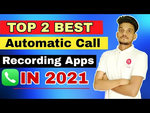 Top 2 New Best Automatic Call Recording Apps For Android 2021 - Hindi