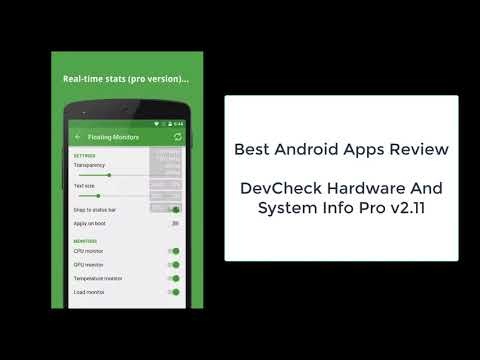 Best Android Apps, DevCheck System Info Pro v2.11