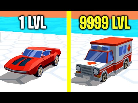 Race Arena! - All Cars Unlocked! MOST INCREDIBLE CAR EVOLUTION! Max Level Power! (9999  Level Car!)