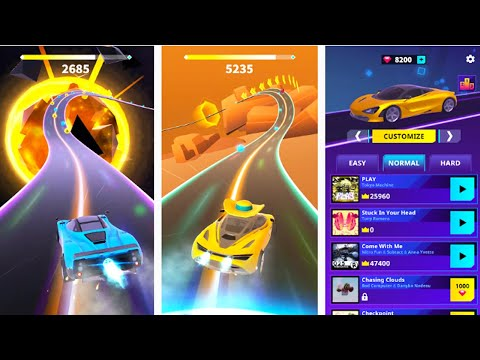 Racing Rhythm - Android Gameplay (By Gamejam)