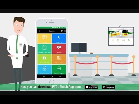how to creat PTCL  account and how to use PTCL touch app
