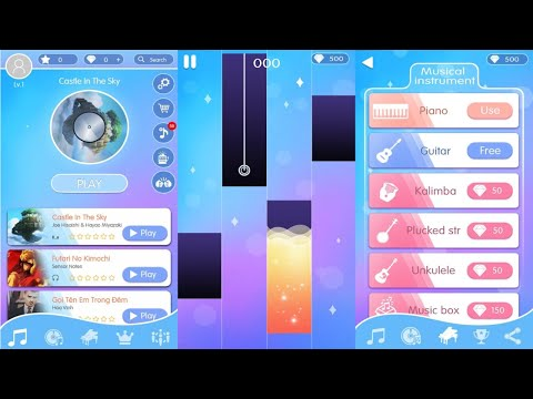 Piano Magic: Tiles Notes Android Gameplay