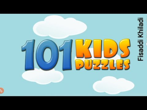 101 kids puzzles |  Puzzles for preschool kids | Android Game Play Video  |