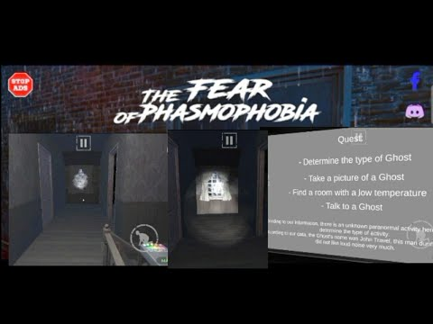 The Fear Of Phasmophobia gameplay   Android / ios Farm horror