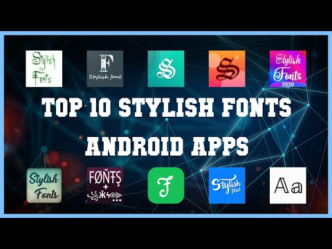 Top 10 Stylish Fonts Android App | Review