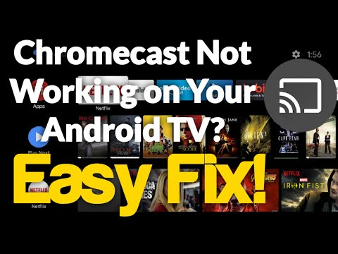How To Fix Missing Chromecast on Android TV (Google Chromecast Built in) FAST & EASY FIX!