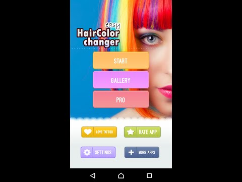 Easy Hair Color Changer - android app