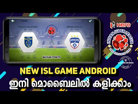 New ISL Game Android    ft Indian super League    Play Indian Super league in Mobile