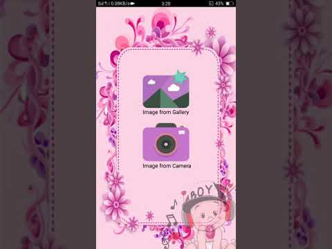Working functionality of best baby photo frame maker android app