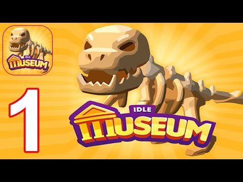 Idle Museum Tycoon: Empire of Art & History - Gameplay Walkthrough Part 1 Tutorial (Android, iOS)