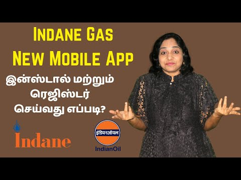 How to Install and Register on Indane LPG Gas Booking App IndianOil One in Tamil | Link LPG Account