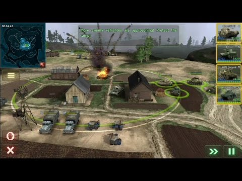 Armor Age: Tank Wars (by HeroCraft Ltd) - strategy game for Android and iOS - gameplay.