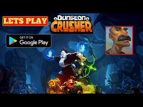 Lets Play Dungeon Crusher Soul Hunters, Android Gameplay, Tips and game review