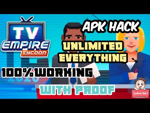 How to download Tv empire tycoon latest v1.0 apk Hack