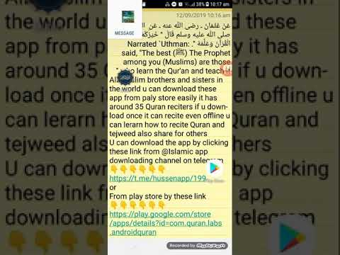 Quran for android Best app to learn quran