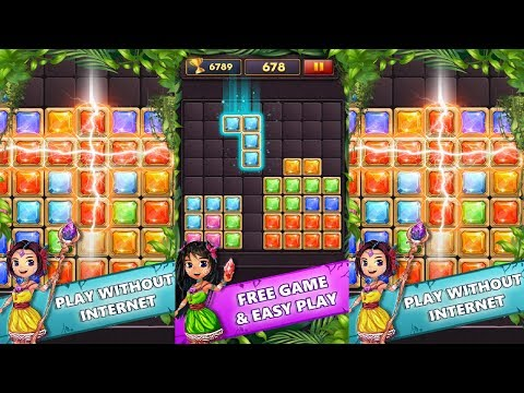 Block Puzzle Gems Classic 1010 Android Gameplay