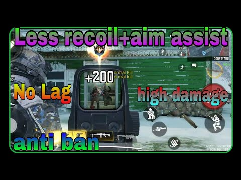 (CALL OF DUTY MOBILE) AIMBOT Less recoil no lag no ban Config file