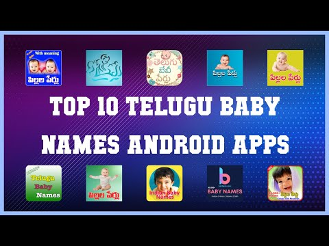 Top 10 Telugu Baby Names Android App   Review