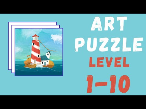 Art Puzzle Gameplay | All Levels | Level 1-10 Solutions