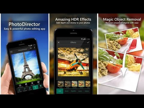 How to Use PhotoDirector Photo Editor Edit & Stories Android 2020