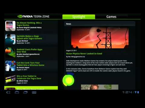 Tegra Zone -- Find the best Android apps for your device