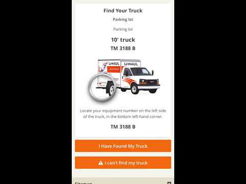How to Pick Up a Moving Truck with U-Haul Truck Share 24/7