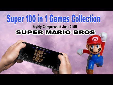 100 in 1 Games Collection | How to download Super Mario game in Android mobile | 2020