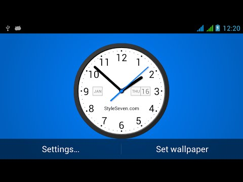 video review of Light Analog Clock LW-7