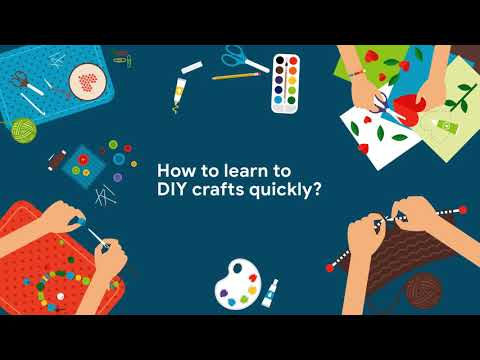video review of Learn Crafts and DIY Arts
