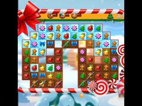 video review of Christmas Crush Holiday Swapper Candy Match 3 Game