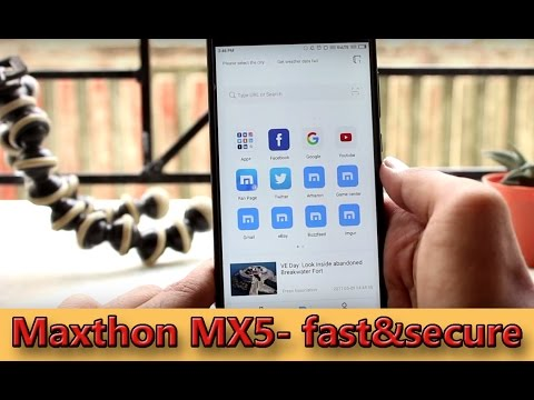 This may be your new browser! - Maxthon MX5 Overview