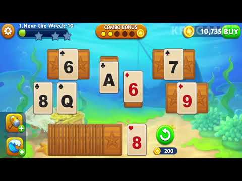 Solitaire Paradise: Tripeaks Android Gameplay
