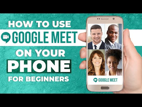 HOW TO USE GOOGLE MEET MOBILE APP 2021 | Step By Step Tutorial For Beginners (ANDROID & IOS)