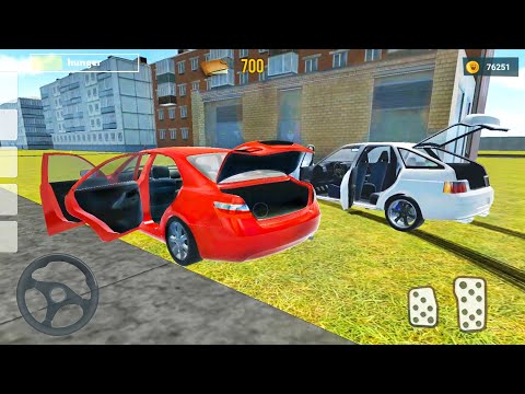 Driver Simulator #2 - Took A Friend's Car - Android Gameplay FHD