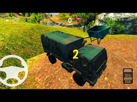 US Army Truck Simulator - US Army Simulator 2020 - Android Gameplay