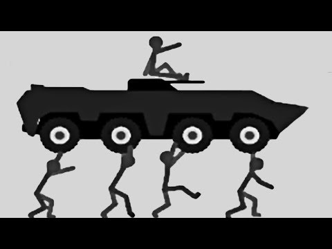 STICKMAN FIGHT TANK! | Stickman Annihilation 4 #1
