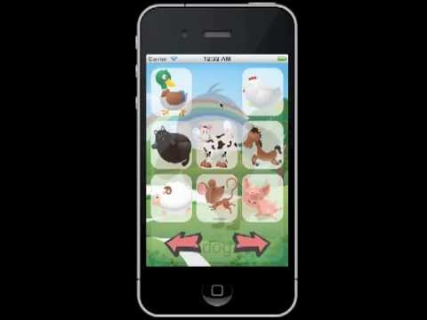 Baby Animal Sounds App Android / iPhone / iPad